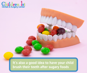 Children's Dental Care - Sugary Foods